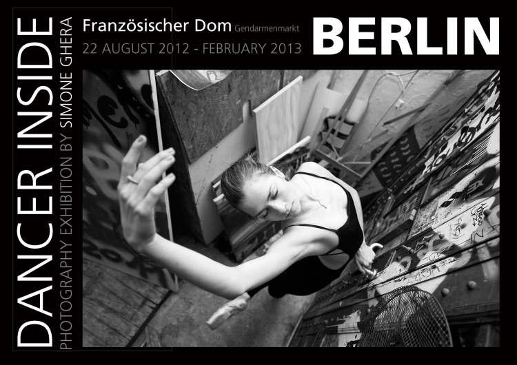 Il fotografo Simone Ghera in mostra a Berlino, Dancer Inside, MAE Milano Arte Expo